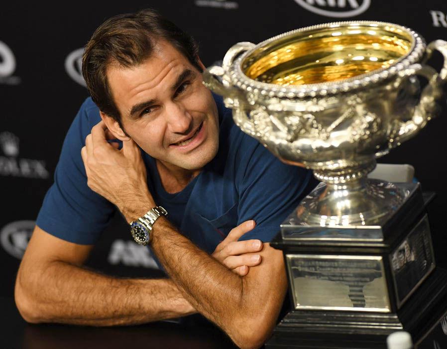 Roger Federer  Australian Open 2018 results LIVE: Marin Cilic awaits winner of Federer vs Chung | Tennis | Sport 330007