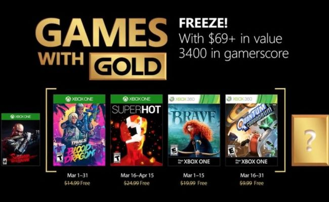 Games With Gold April 2018 Update Here S When Free Xbox