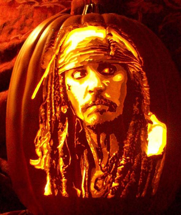 Image 11 Celebrity Pumpkin Carvings Pictures Pics