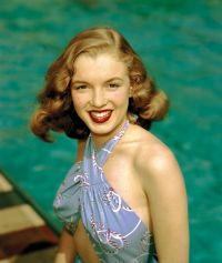 Norma Jeane at the pool, Richard C. Miller. Richard C ...
