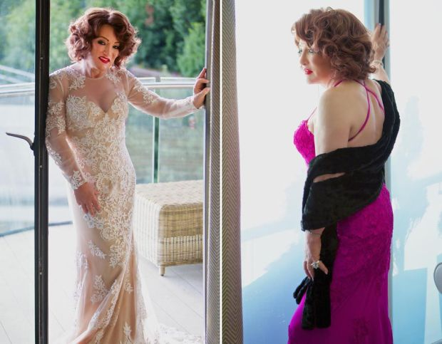 Kellie Maloney shows off her style for Models of Diversity
