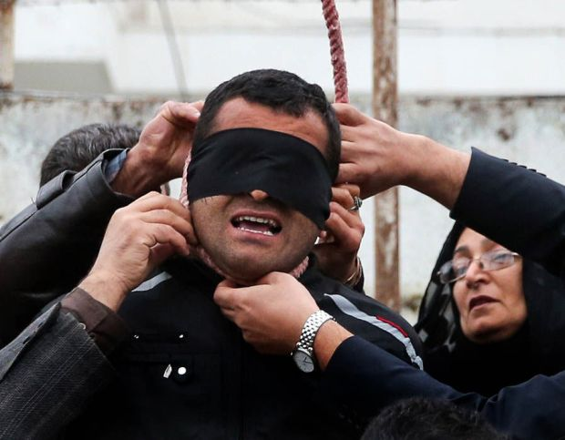 An execution ceremony