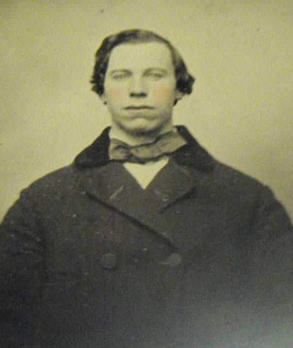 Another time travel moment maybe, as a doppleganger of John Travolta is seen in the 1800s