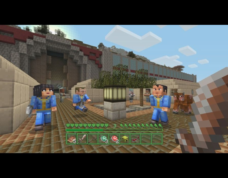 Minecraft Fallout DLC Launches With MASSIVE Xbox One PS4