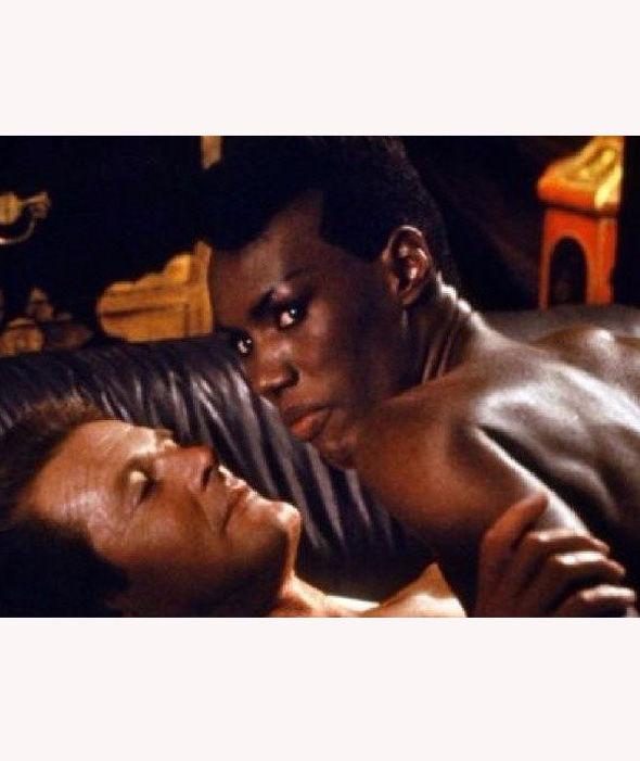 Grace Jones with James Bond