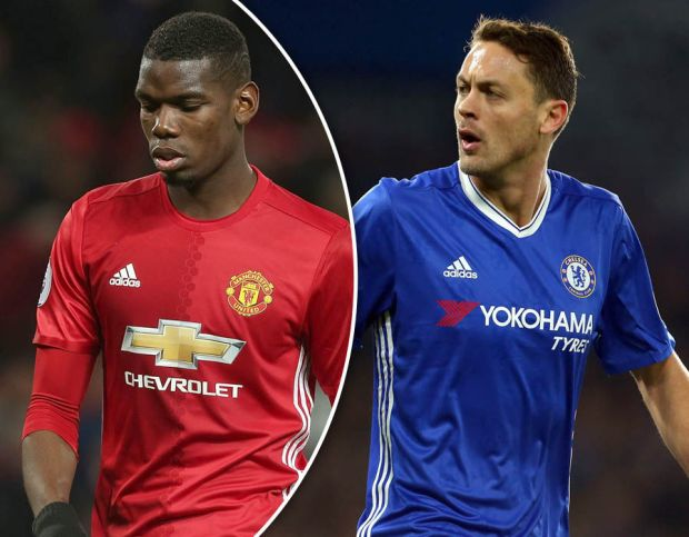 Paul Pogba Nemanja Matic