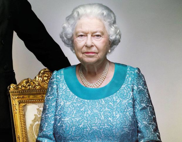 The Queen pictured in December 2016