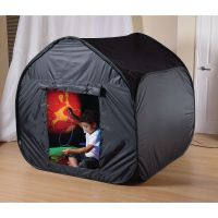 Sensory Black Out Tent - Black | AtoZ Supplies