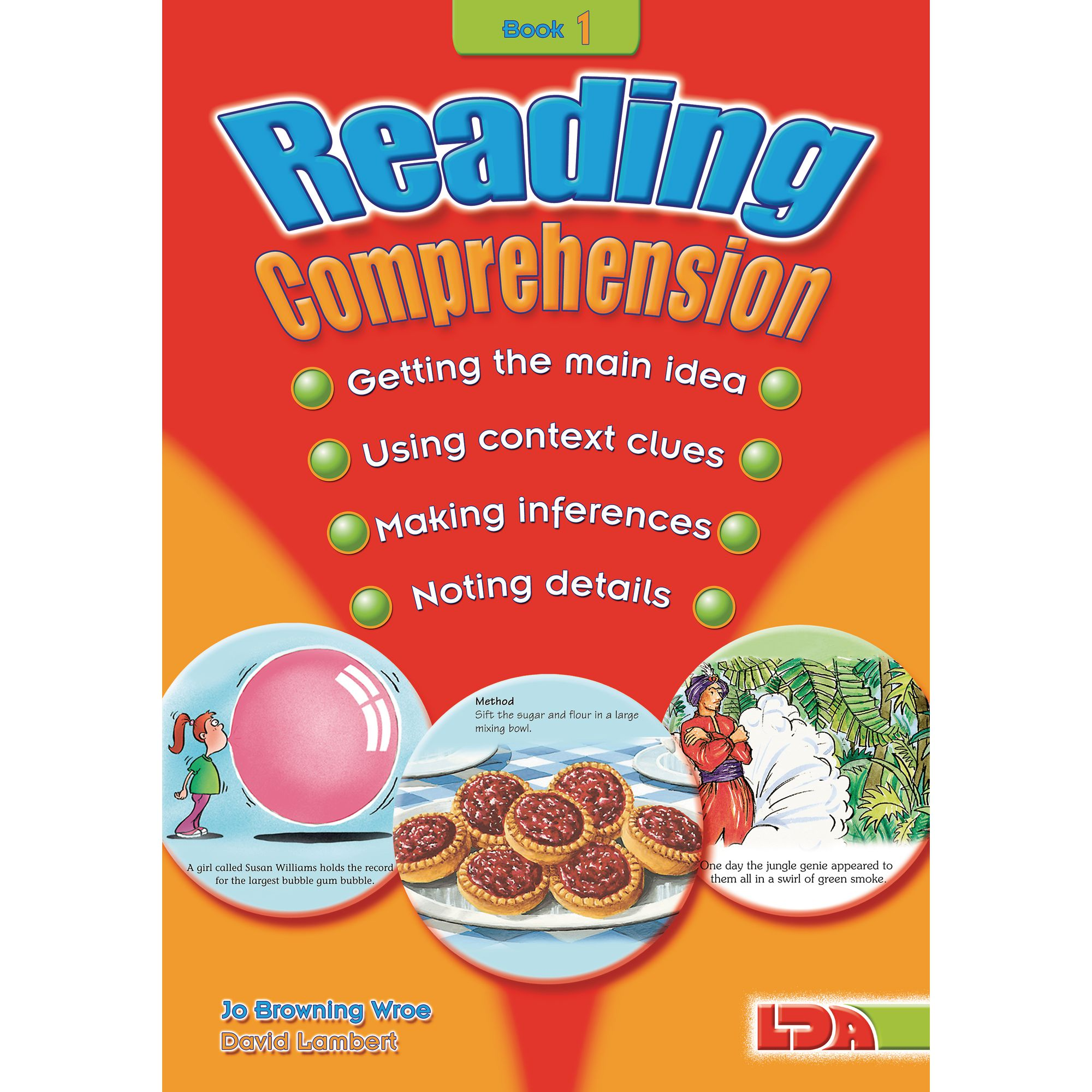 Reading Comprehension Book 1