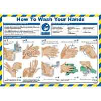 Hand Washing Guidance Poster - A1214239 | AtoZ Supplies