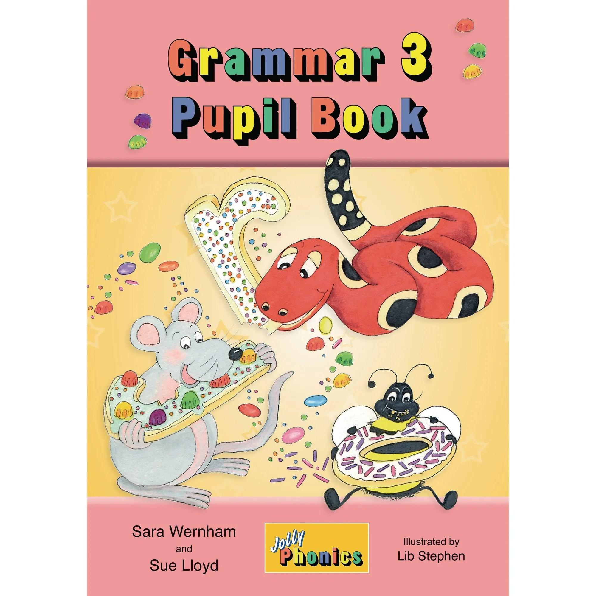 Jolly Phonics Grammar 3 Pupil Handbook