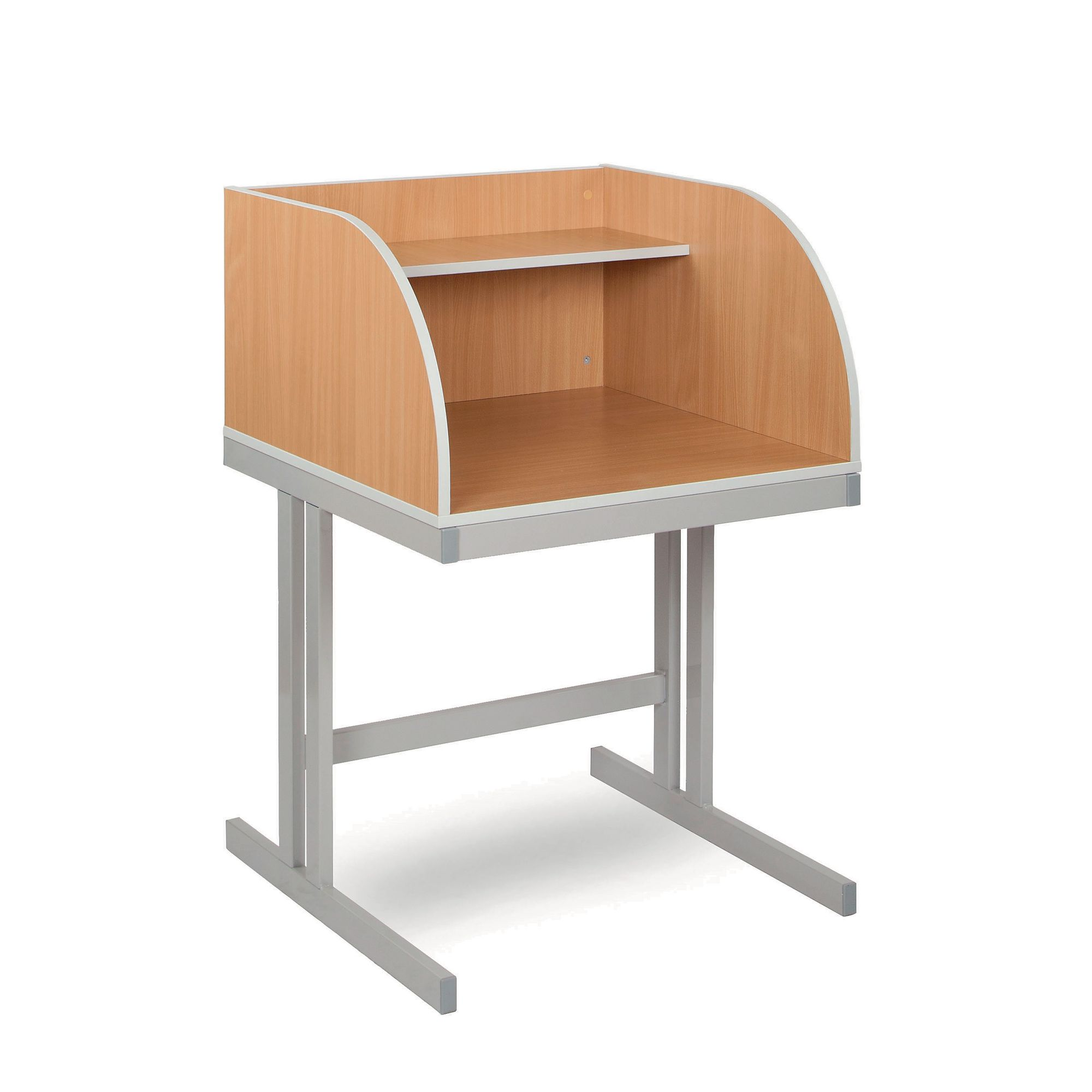 Study Carrel  Curved  GLS Educational Supplies