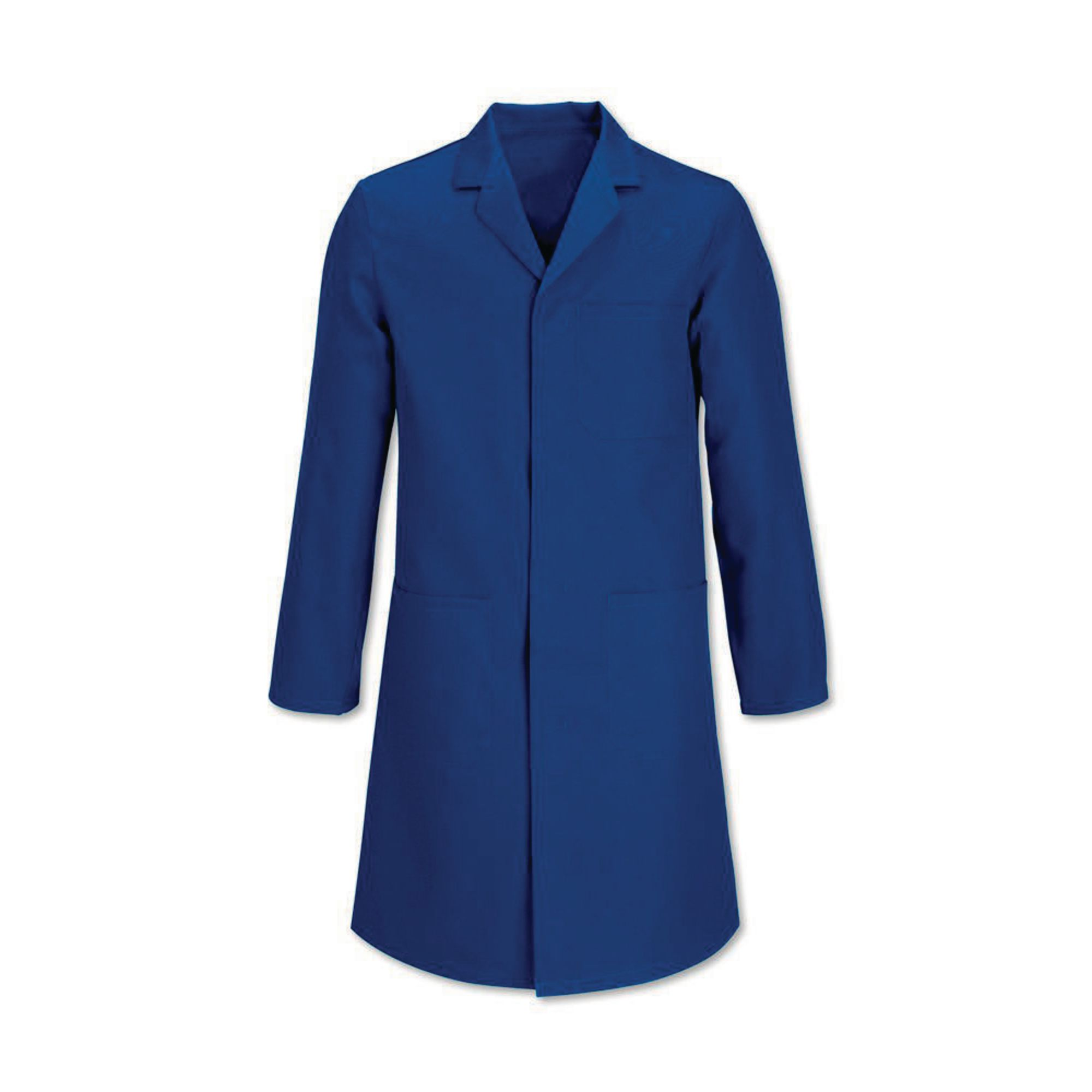 Royal Blue Polycotton Coat