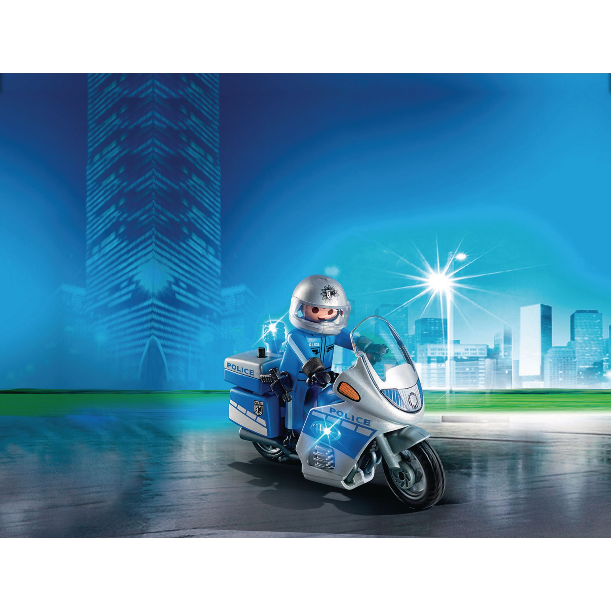 Playmobil Police Motorcycle Hope Education