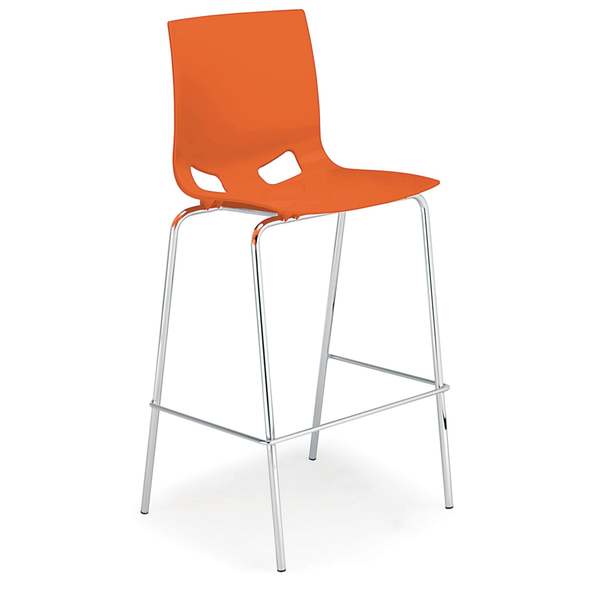 pp chair company director stool outdoor fondo gloss high orange gls educational supplies