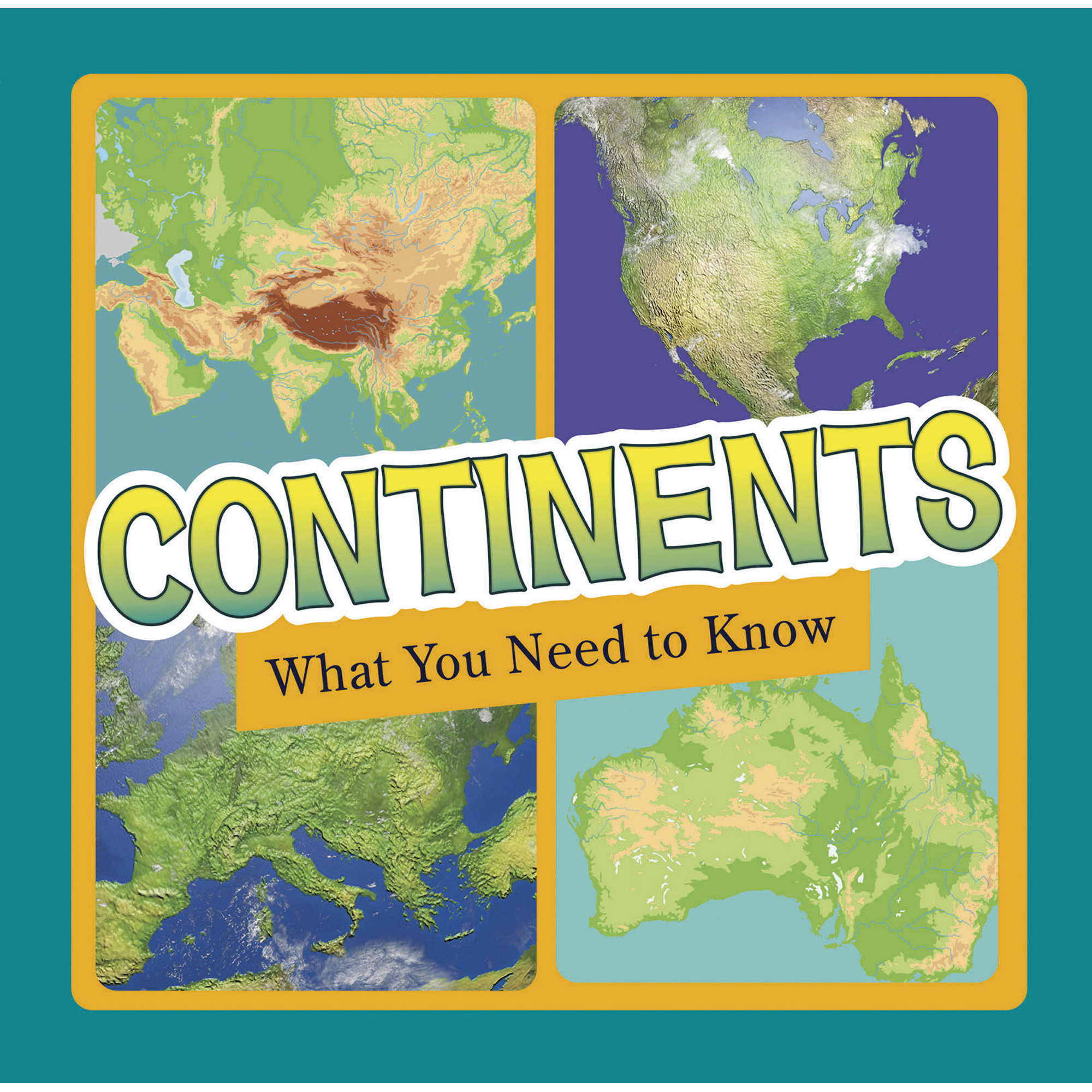 Continents Fact Files