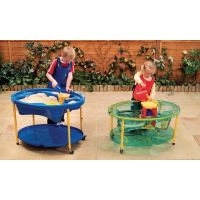 Adjustable Sand and Water Play Table - Clear | Hope Education