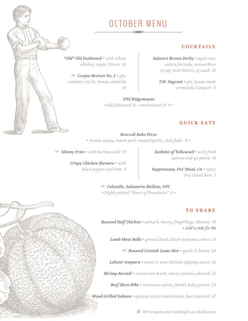 iMenuPro · Restaurant Menu Template Gallery, menu software