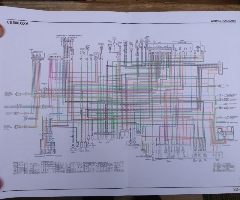 triumph t100 wiring diagram ezgo marathon cb500x - can anyone help? lighting, electrical, and honda