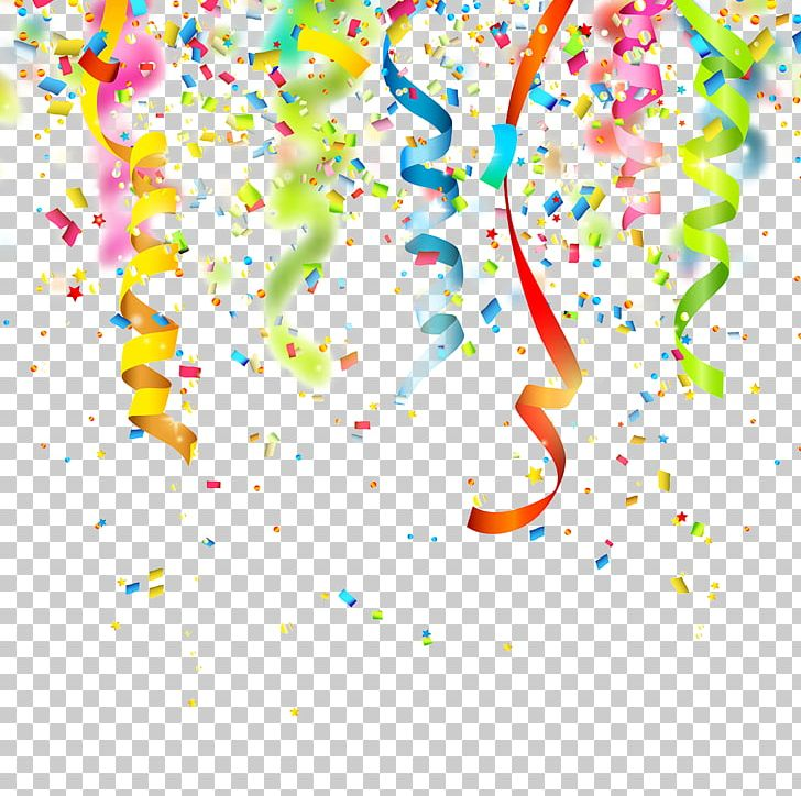 birthday confetti party png