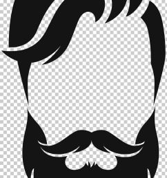 silhouette beard moustache png clipart animals artwork beard black black and white free png download [ 728 x 1255 Pixel ]