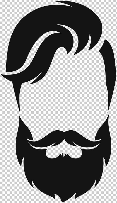 small resolution of silhouette beard moustache png clipart animals artwork beard black black and white free png download