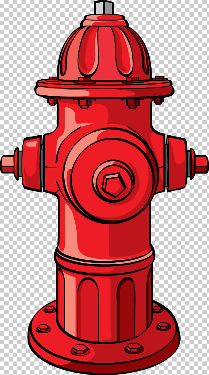fire hydrant cartoon firefighter