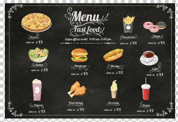 Hamburger Fast Food Hot Dog Cafe Menu PNG Clipart Cheeseburger Fast Food Restaurant Food Happy Birthday