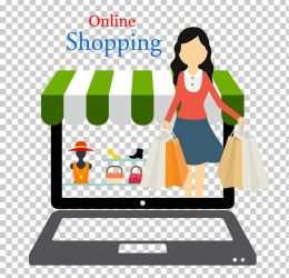 Online Shopping PNG Clipart Area Art Cartoon Cdr Clip Art Free PNG Download