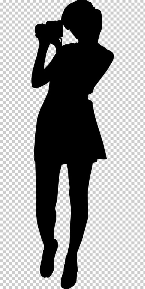 small resolution of photography silhouette photographer png clipart art black black and white color photography female silhouette pictures free