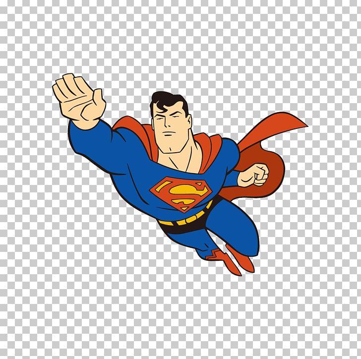 clark kent cartoon superhero