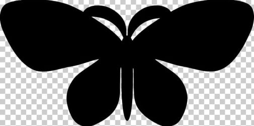 Butterfly Silhouette PNG Clipart Black Black And White Butterfly Butterfly Clipart Butterfly Silhouette Free PNG Download