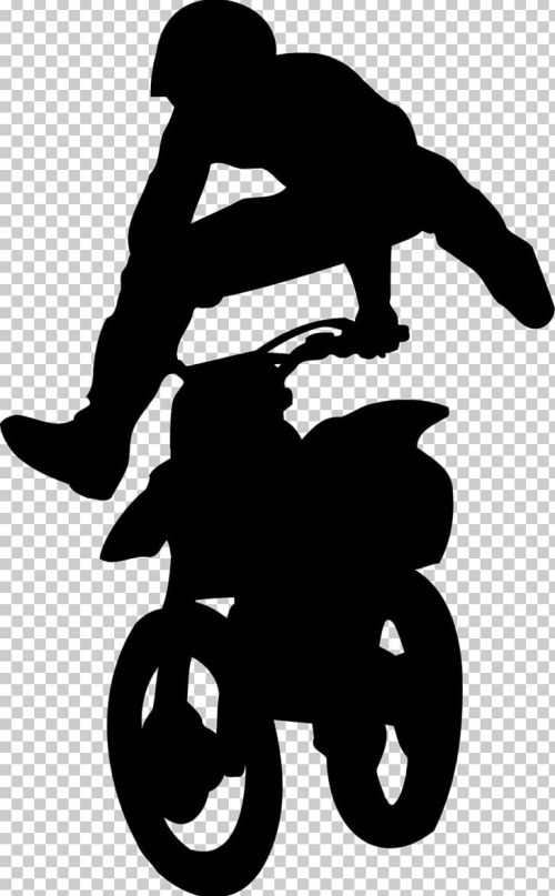 small resolution of silhouette black white character png clipart animals black black and white character dirt bike free png download