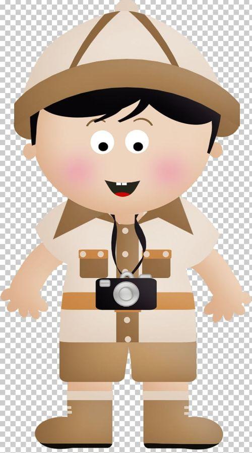 small resolution of safari drawing png clipart ahoy boy cartoon clip art drawing free png download
