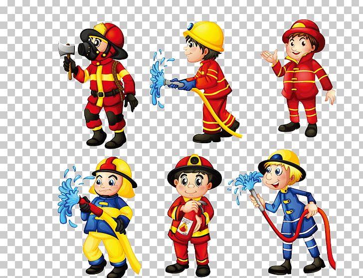 firefighter png clipart cartoon