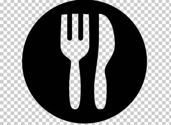 Lunch Computer Icons Meal Dinner Breakfast PNG Clipart Black And White Breakfast Computer Icons Cooking Dinner