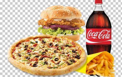 Junk Food Kosher Foods Pizza Fast Food Samosa PNG Clipart American Food Cheeseburger Cuisine Fast Food