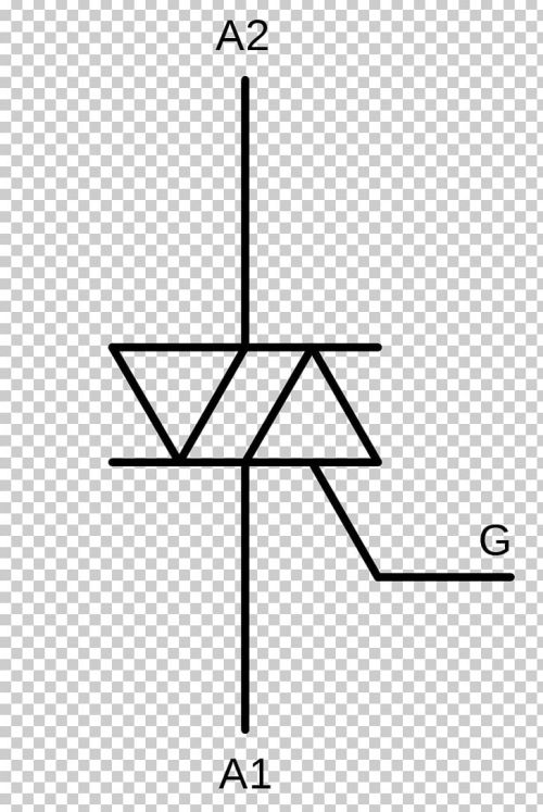 small resolution of solid state relay electronic symbol triac solid state electronics png clipart angle area black and white circle circuit diagram