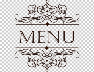 Menu Cafe Restaurant Wine List PNG Clipart Border Texture Chinese Style Circle Clip Art Design Free