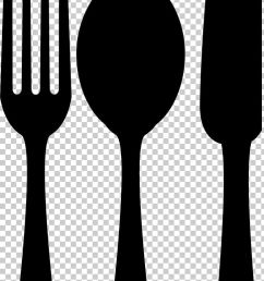 spoon fork knife png clipart black and white cartoon cutlery drawing fork free png download [ 728 x 1418 Pixel ]