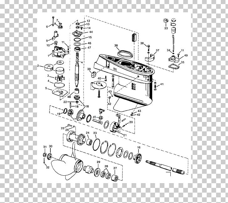 Wiring Diagram For Johnson Outboard Motor