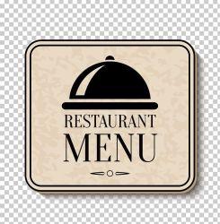 Menu Hotel PNG Clipart Black Brand Designer Euclidean Vector Food Menu Free PNG Download