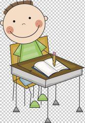 Student Desk Office PNG Clipart Art Artwork Cartoon Chair Classroom Free PNG Download