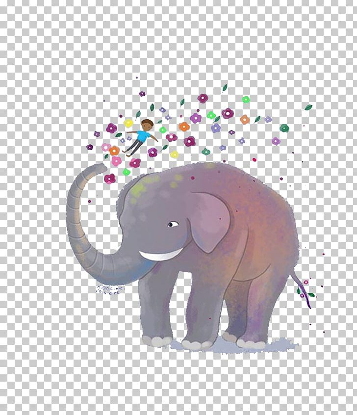 african elephant indian elephant