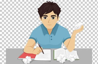 SAT Homework Personal Statement College Application Writing PNG Clipart Arm Art Boy Cartoon Child Free PNG