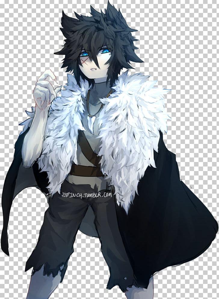 gray wolf werewolf anime