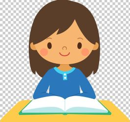 Girl Study Skills Student PNG Clipart Art Board Board Book Boy Cartoon Free PNG Download