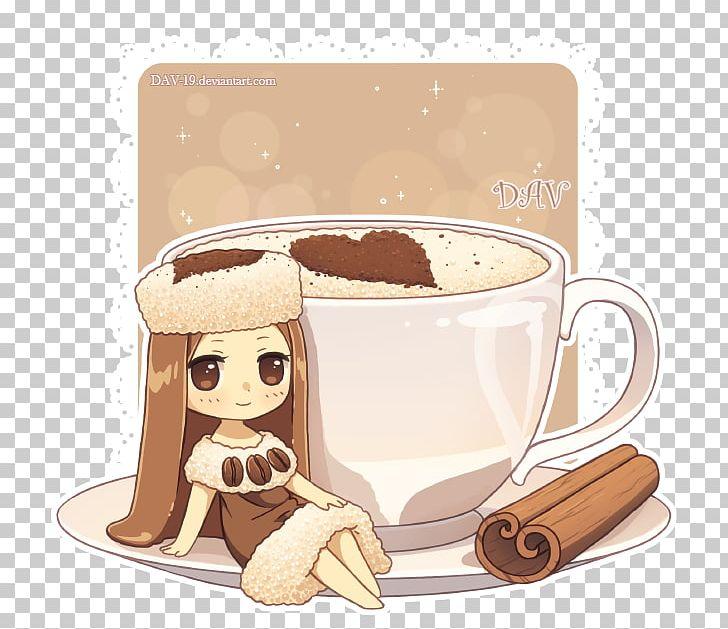 chibi coffee food drawing