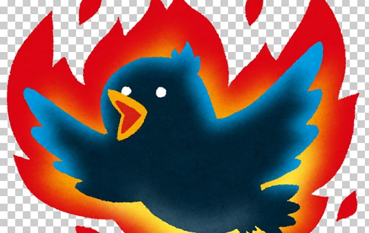 いらすとや flaming internet illustrator