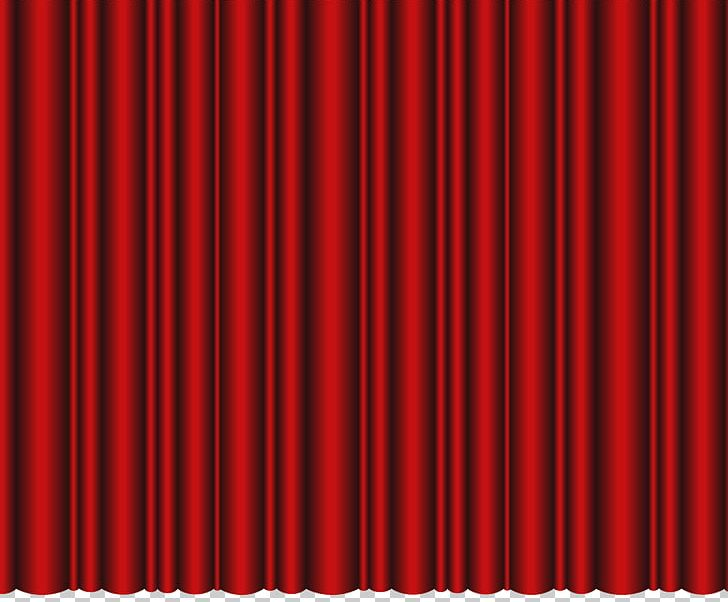 window curtains close theater